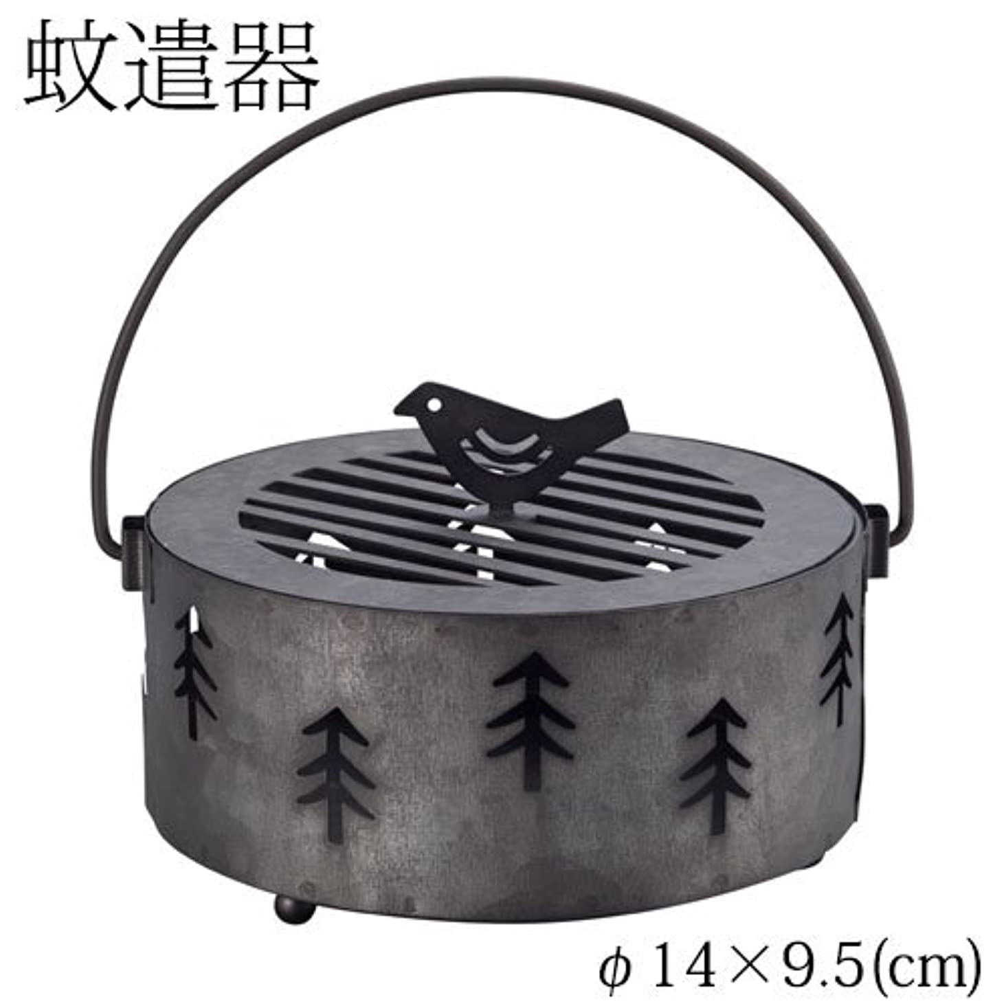 宿題中絶プレゼントDECOLE 蚊遣り箱 森 (ZBZ-37414) スチール製蚊遣器 Kayari of Steel