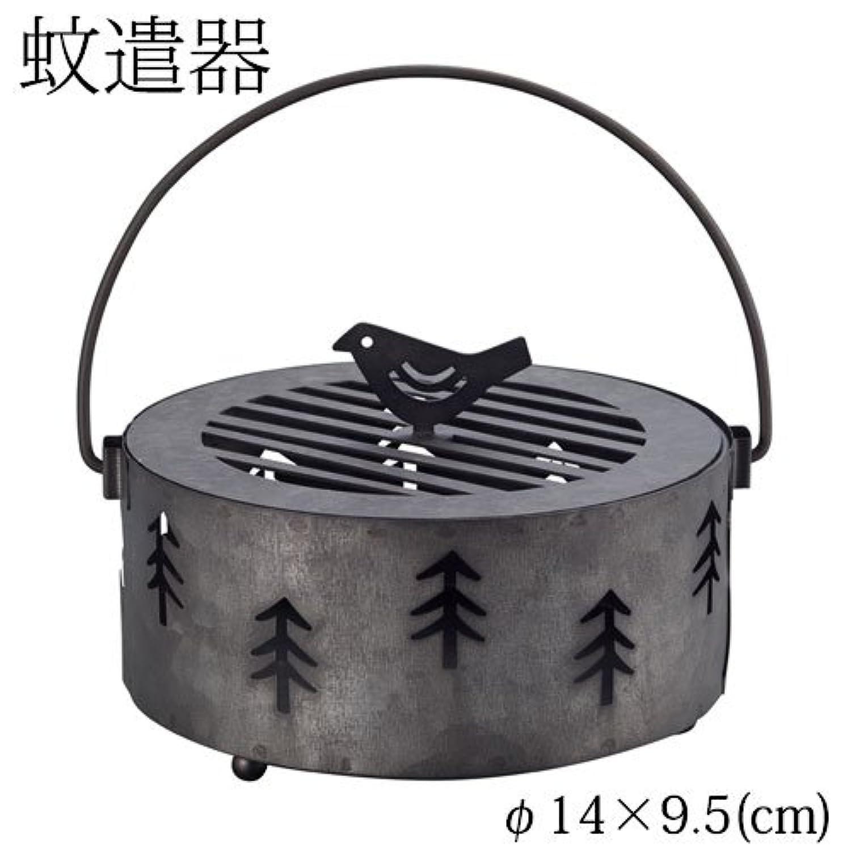 DECOLE 蚊遣り箱 森 (ZBZ-37414) スチール製蚊遣器 Kayari of Steel