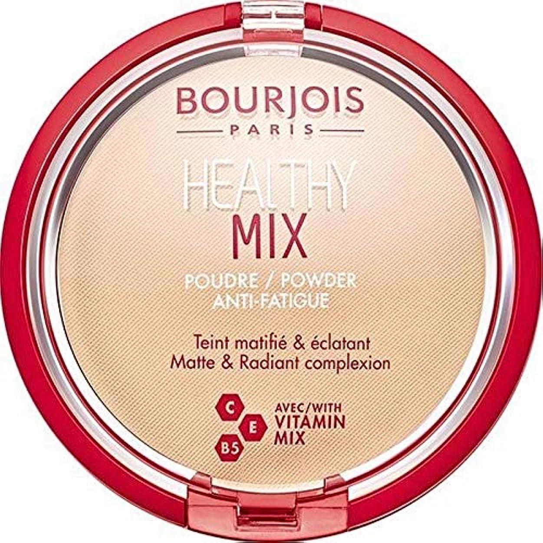 感嘆符風刺溶けた[Bourjois ] ブルジョワヘルシーミックス粉1を押します - Bourjois Healthy Mix Pressed Powder 1 [並行輸入品]