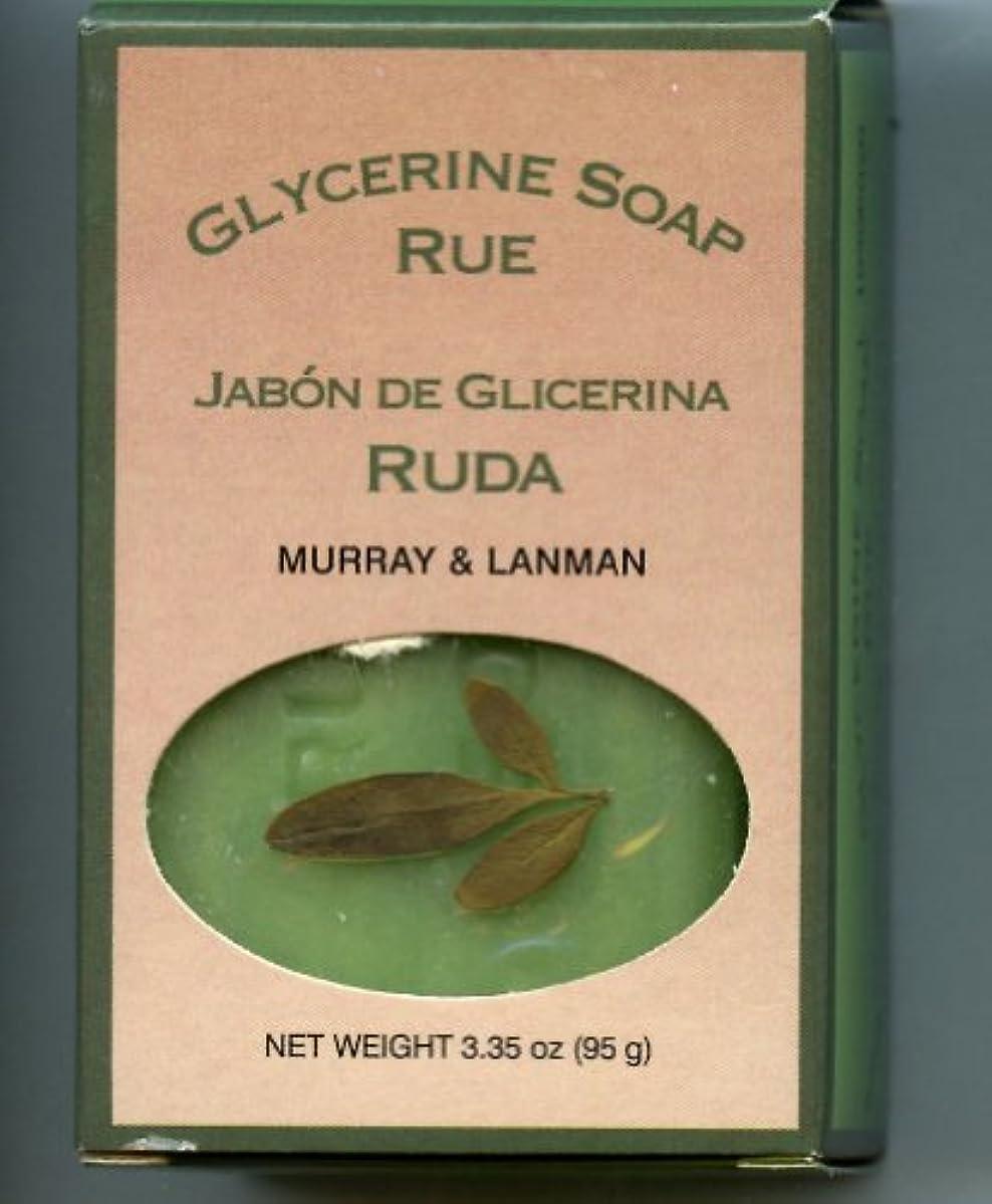 不平を言う古風な浴室Murray & Lanman グリセリンソープルー[すべての封印されました]