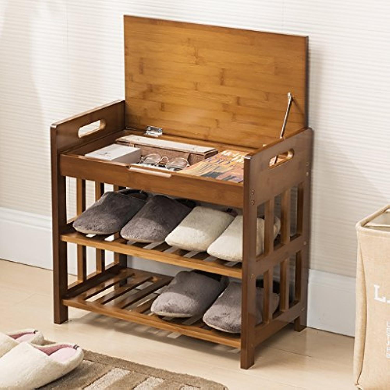 シューズラック- 靴棚クリエイティブスツールリビングルーム寝室収納キャビネットマルチパーパスシェルフ (サイズ さいず : 52cm)