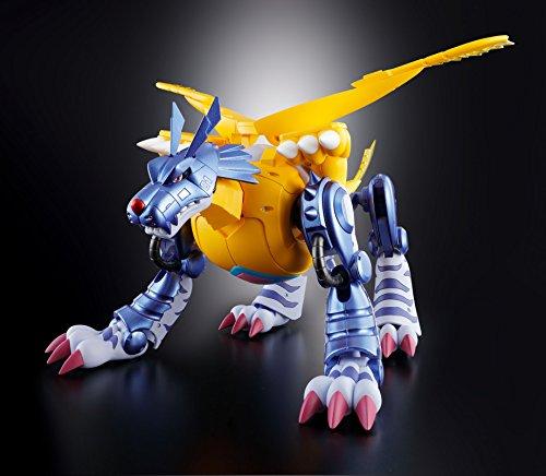 超進化魂 デジモンアドベンチャー 02 メタルガルルモン 約200mm ABS&PVC&ダイキャスト製 塗装済み可動フィギュア