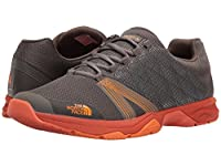 [ノースフェイス] The North Face メンズ Litewave Ampere II スニーカー Dark Gull Grey/Exuberance Orange US7.5(25.5cm) - D - Medium [並行輸入品]