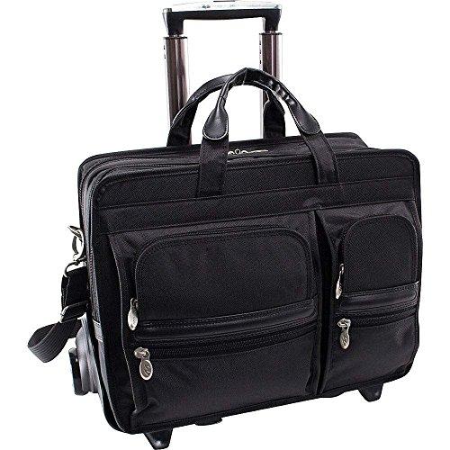 (マックレーンユーエスエー) McKlein USA メンズ バッグ キャリーバッグ Clinton Nylon Detachable Wheeled 17' Laptop Case 並行輸入品