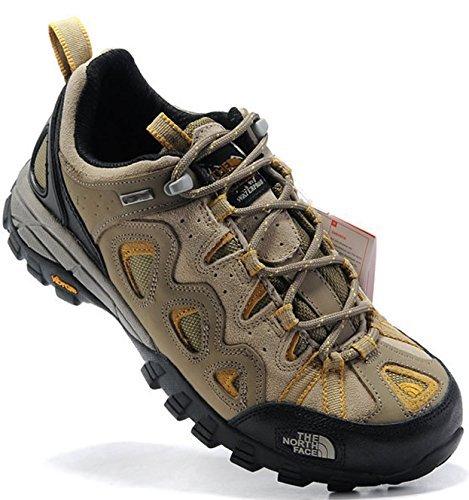 [T H E - N O R T H - F A C E]ザ ノ- ス フェ- ス トレッキングシューズ 登山靴 ローカット スニーカー (EUR44(27-27.5cm), サンド) [並行輸入品]
