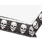 Nappe de table en plastique Crâne Horreur Fright Night Halloween