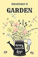 Grandma's Garden: Happy Summer Days Detailed 6x9 Gardening Book