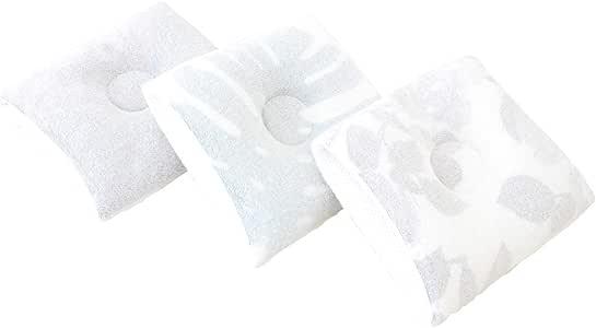 iimin 授乳しながら使えるベビー枕 肌に優しいオーガニックコットン100%使用 (モンステラ)