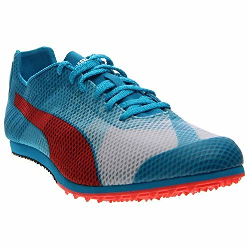 PUMA Men's Evospeed Star V4 Sneaker White/Atomic Blue/Red Blast 11 D US [並行輸入品]