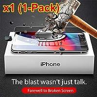 iphone7/iphone8ガラスフイルム 強化ガラス液晶保護フィルム 高硬度9H指紋防止 飛散防止 98%高透過率 耐衝撃 気泡ゼロ貼付け簡単 3Dラウンドエッジ加工 1枚
