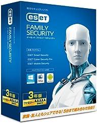 キヤノンITソリューションズ ESET ファミリー セキュリティ | 5台3年版