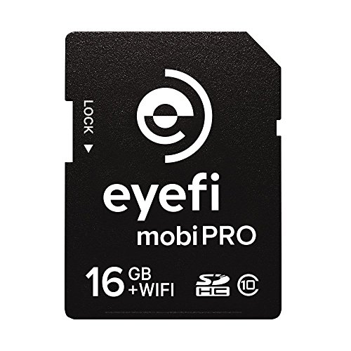 Eye-Fi Mobi Pro 16GB WiFi SDHC CARD + 1 year Eyefi Cloud [並行輸入品]