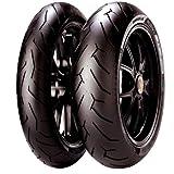 PIRELLI(ピレリ) バイクタイヤ DIABLO ROSSO2 フロント 120/70ZR17 M/C (58W) チューブレスタイプ(TL) 2291900 二輪 オートバイ用