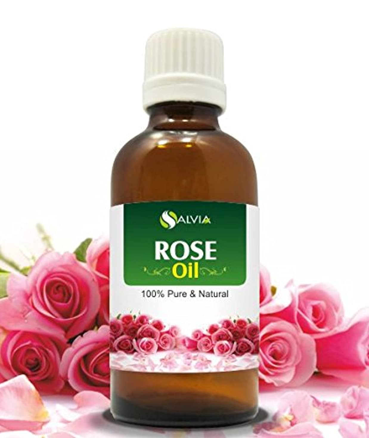 挽く発火する悪化させるROSE OIL NATURAL PURE UNDILUTED 50ML