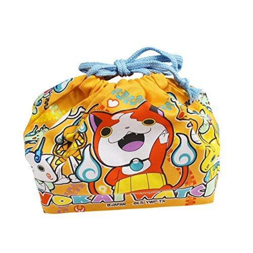 オーエスケー 妖怪ウォッチ 巾着弁当袋 (オレンジ) KB-...
