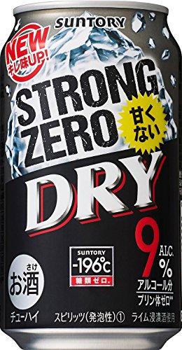 サントリー チューハイ-196℃ストロングゼロ<DRY> 350ml×24缶