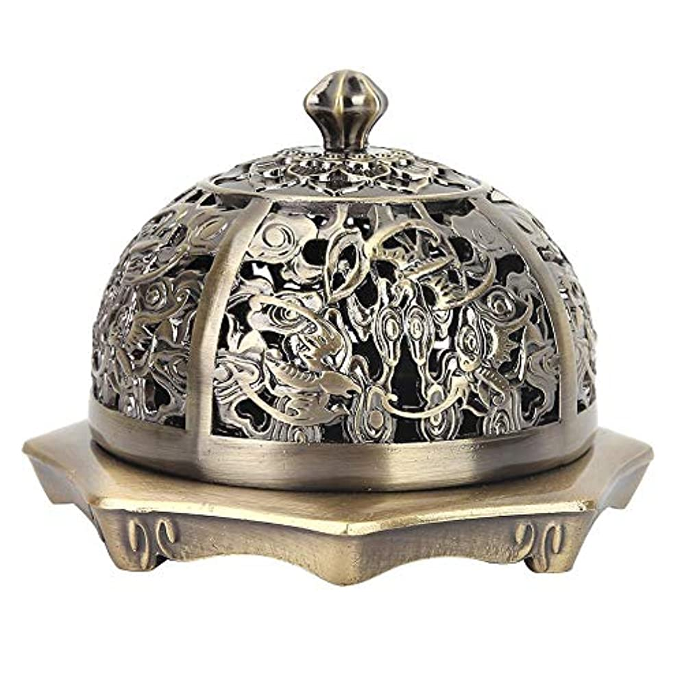 多数の誇張する約香炉 アロマ香炉 丸香炉 アロマバーナー アロマ炉 お香バーナー蓋付き お香ホルダー お香 心を落ち着かせてくれる