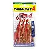 ヤマシタ(YAMASHITA) タイラバ 鯛歌舞楽(たいかぶら) 波動ベイト 約68mm オレンジ金 #3