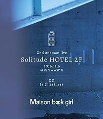 Maison book girl「faithlessness」のCDジャケット