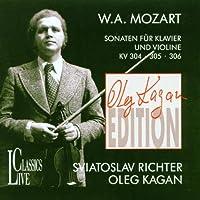 Oleg Kagan Edition, Vol. II: Mozart: Sonatas For Piano & Violin, KV 304, 305, 306 by Oleg Kagan