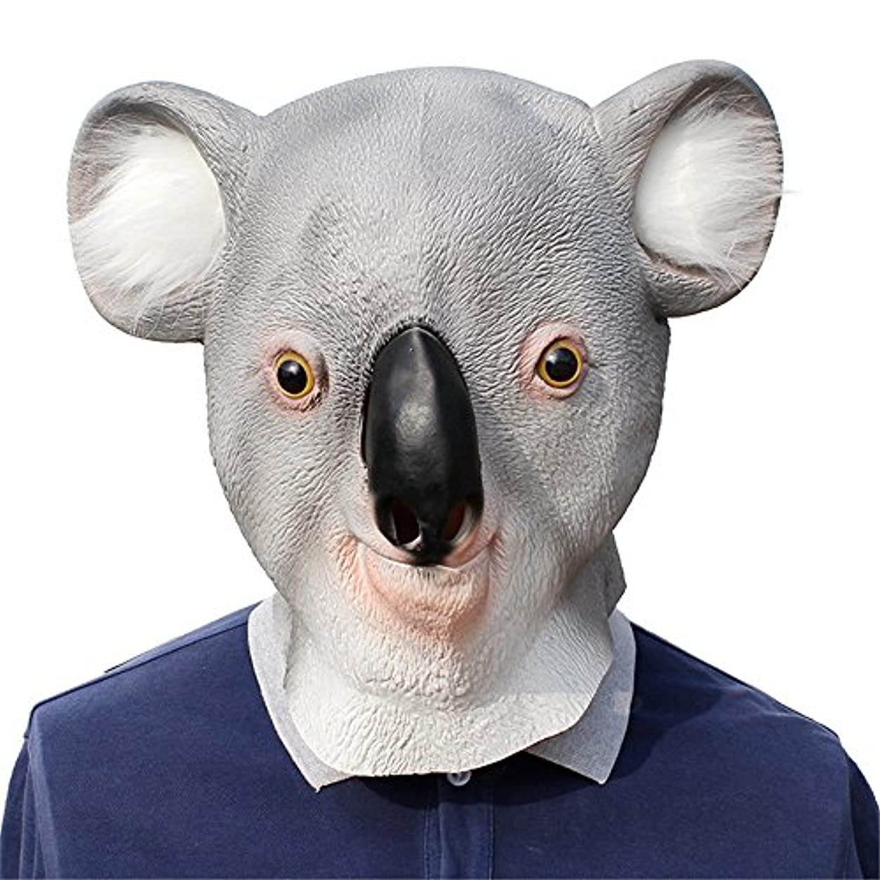 緩める感度禁止ハロウィンラテックスマスククリスマスボールコアラスタイリングマスクパーティー用品