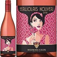 新酒[Mommessin]モメサン、ボジョレー・ロゼ・ヌーボー 2018 (赤) 750ml/航空便