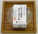 横濱銚子屋だし酢醤油付ところてん4個セット
