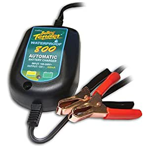 DELTRAN BATTERY TENDER WATERPROOF 800 バッテリーテンダー ウオータープルーフ800 防水型維持充電器 022-0150-DL-JP