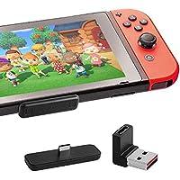 Gulikit Bluetooth オーディオアダプター 対応 Nintendo Switch PS4 Switch lite PC用 超薄 遅延なし Route Air ブルートゥース アダプター