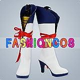 サイズ選択可女性25CM UA0166 VOCALOID ボーカロイド 鏡音リン・鏡音レン コスプレ靴 ブーツ