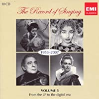 Record of Singing Vol. 5