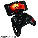 マッドキャッツ 【iPad/iPhone対応】ワイヤレスゲームパッド[Bluetooth・iOS] Micro C.T.R.L.i Mobile Game pad ブラック MFi認証 MC-MCTRLI-BKZ