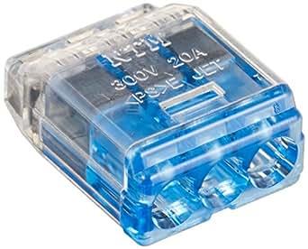 ニチフ 差込形コネクタ クイックロック 50個入 QLX3-BCL