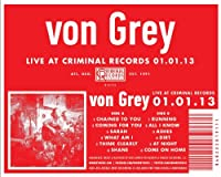 Live at Criminal Records 01.01.13 [Analog]