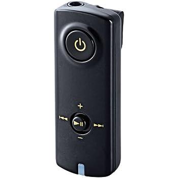 エレコム Bluetooth ブルートゥース レシーバー 通話対応マイク搭載 iPhone android対応 1年間保証 ブラック LBT-PAR150BK