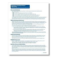 ComplyRight FMLA必須Employee Notice