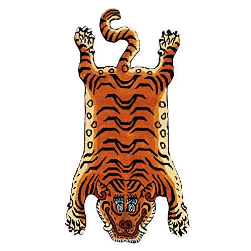 チベタンタイガーラグ スモール DETAIL Tibetan Tiger Rug [ DTTR-01 / Sサイズ ]