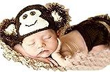 さる コスチューム 寝相アート 赤ちゃん 着ぐるみ 衣装 ベビー コスプレ 2016 年賀状 申 ハロウィン