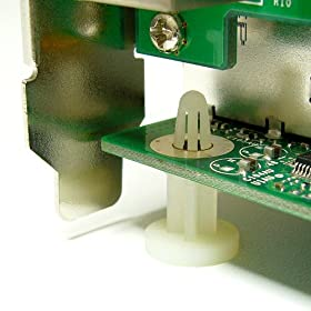 クラムワークス PCマザーボード用 スペーサー 【机上でスロットを使用可能】 GLZ11W ★10個セット