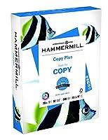 Hammermill Copy Plus, 20Lb, 8 1/2 X 11, 92 Bright, 500 Sheets/ Ream (105007R) by Hammermill