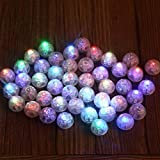 Neo LOONS Round Led Flash Ball Lamp Balloon Light Long Standby Time for Paper Lantern Balloon Light Party Wedding Decoration, White Case [Update Version]