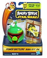 Angry Birds Star Wars Power Battlers Boba Fett Pig Battler [並行輸入品]