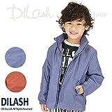 (ディラッシュ) DILASHジャケット(フード収納可)/春 ウィンドブレーカー 110 レッド