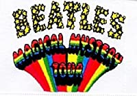 The Beatles Patch Magical Mystery Tour Band Logo 公式 (9Cm X 6Cm) Size Accessory Size