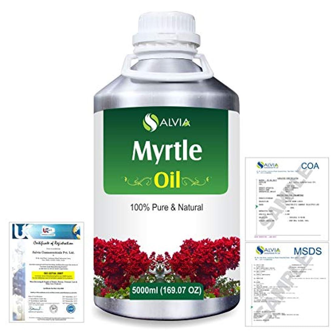 マンモス高速道路キロメートルMyrtle (Backhousia citriodora) 100% Natural Pure Essential Oil 5000ml/169fl.oz.