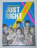 GOT7 ガッセブン - Just Right (3rd Mini Album) CD + 84p Photobook + Photocard + Photo + 1 Folded Poster [KPOP MARKET特典: 追加特典フォトカードセット] [韓国盤]
