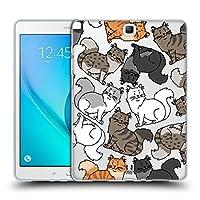 Head Case Designs ノルウェージャンフォレスト キャットブリード・パターンズ 2 Samsung Galaxy Tab A 9.7 専用ソフトジェルケース