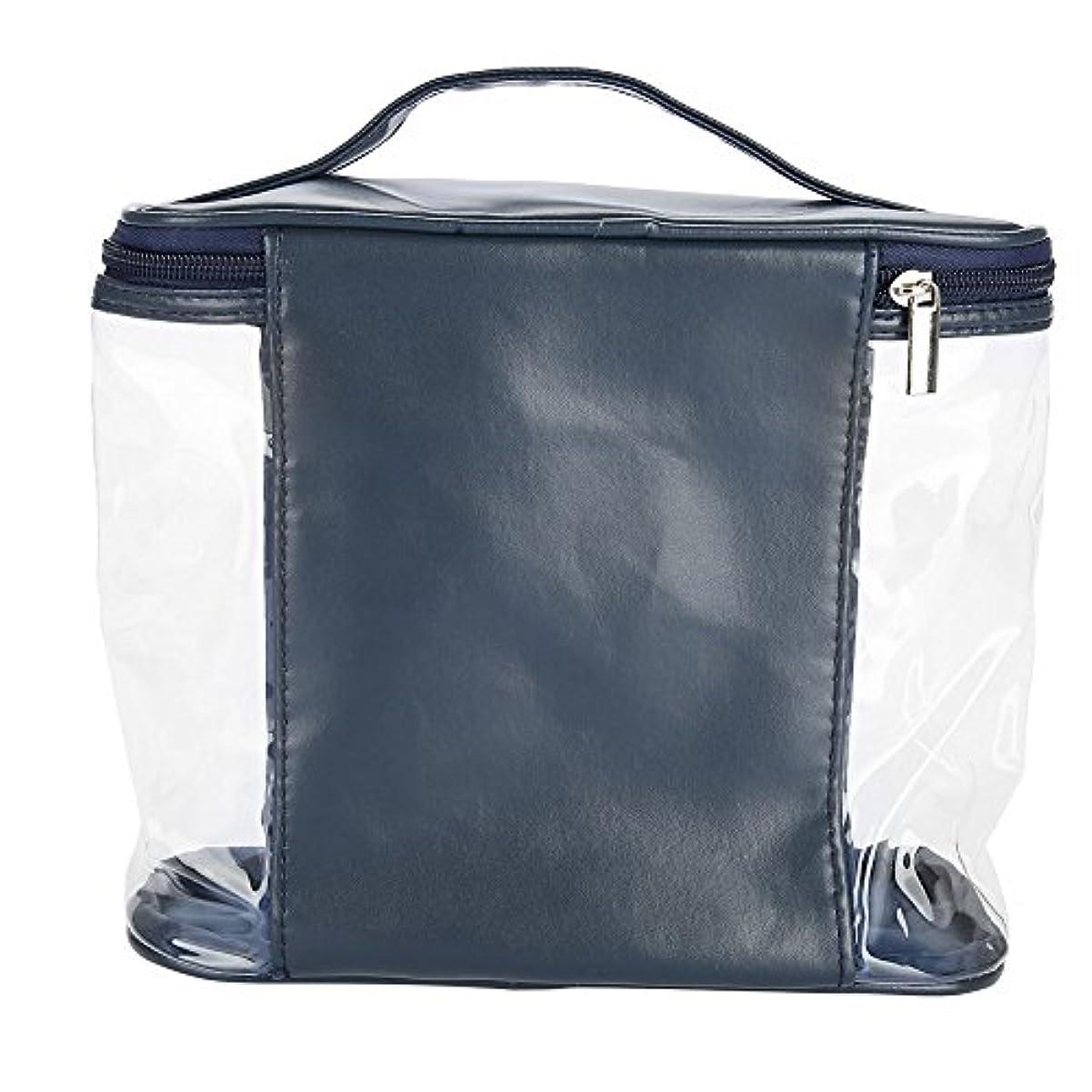 悪性シールペネロペ化粧ポーチ 収納 透明バッグ トイレタリーバッグ バスルームポーチ コスメ収納 透明バッグ 洗顔 旅行 出張用 防水 大容量
