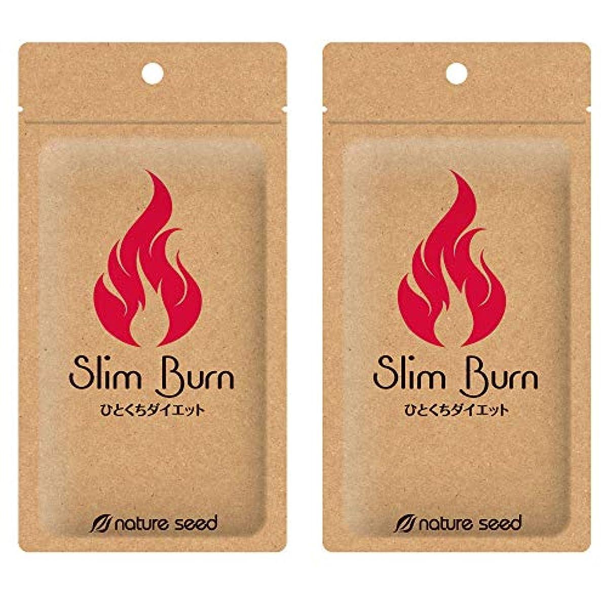 シャーロックホームズラビリンス自明[燃焼サプリ]ダイエット 脂肪燃焼 くびれメイクをサポート サプリメント スリムバーン 2袋(約60日分)
