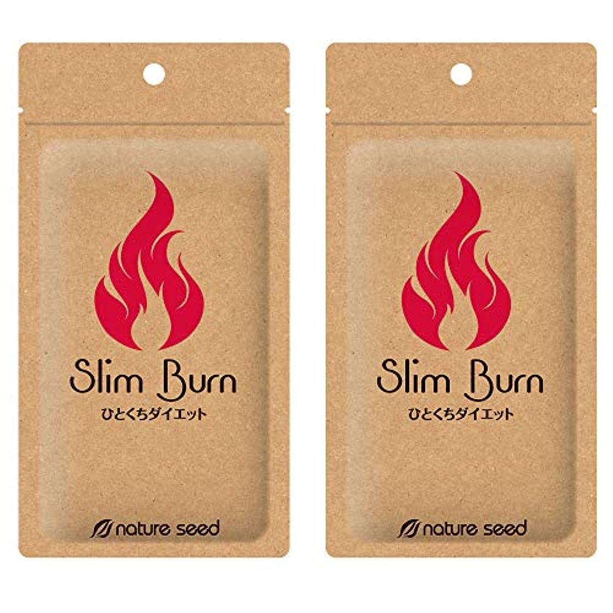 石鹸エレメンタルディスク[燃焼サプリ]ダイエット 脂肪燃焼 くびれメイクをサポート サプリメント スリムバーン 2袋(約60日分)